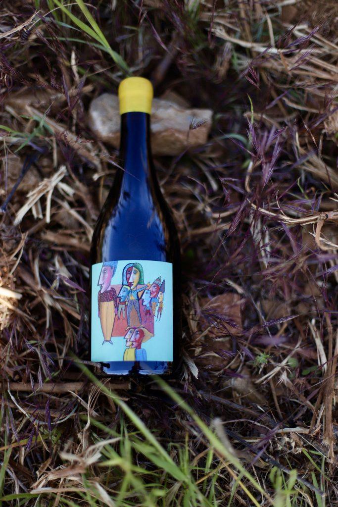 Vin blanc Caritas de la cuvée spéciale OSE du Domaine la Suffrène