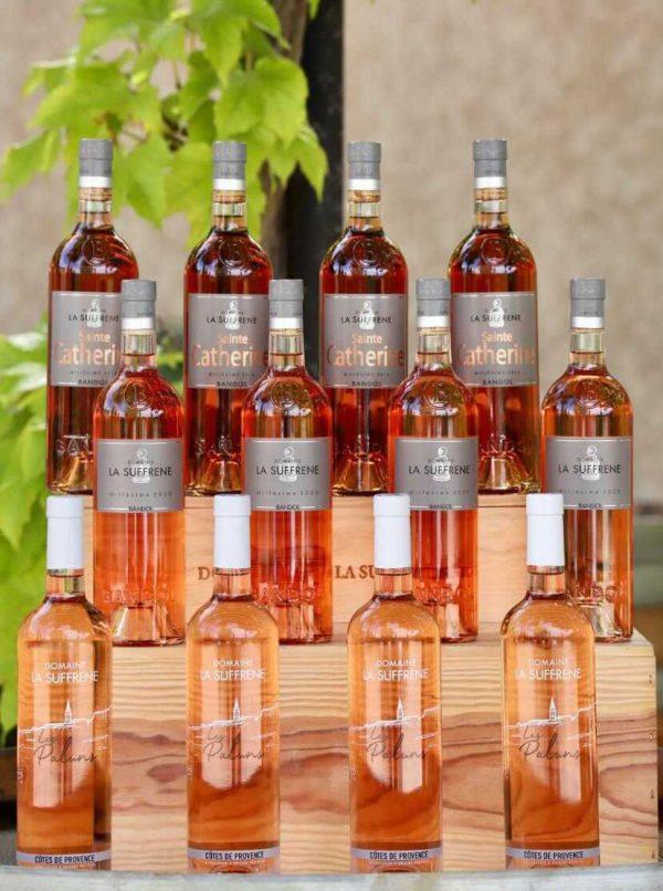 Collection rosé de chez Suffrène
